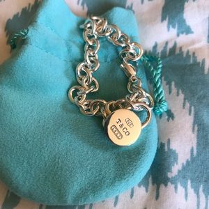 Tiffany & Co Lock Bracelet